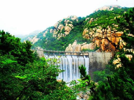 崂山风景八水河